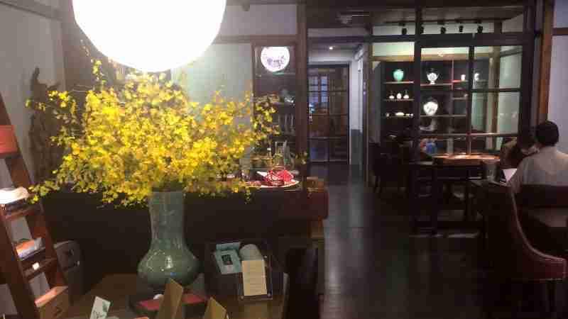 大稻埕美食,桃花源緣茶館食記:百年古宅,讓人回味的古早味拌麵與台灣茶